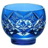 Edo-kiriko (Sake Glass)#t378-893-ccb (japan import)