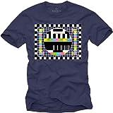 MAKAYA Maglietta Sheldon Testscreen T-Shirt Nerd
