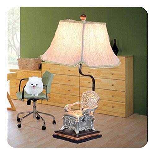 ZQ@QX Fashion design arredamento casa resina lampada