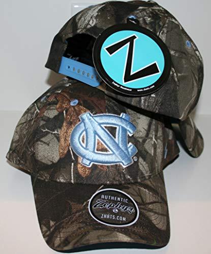 Zephyr University of North Carolina UNC Tar Heels Remington Hunting Camo Adult Mens/Womens/Youth Adjustable 100% Cotton Baseball Hat/Cap
