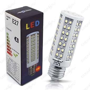 led lampe 96 led energiesparlampe led birne leuchtmittel e27 kaltweiss 6w. Black Bedroom Furniture Sets. Home Design Ideas