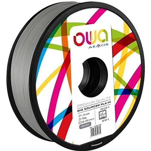 OWA PL1032OW PLA Filament, Gris