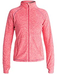 Roxy Harmony Fleece Top – Grande, color rosa