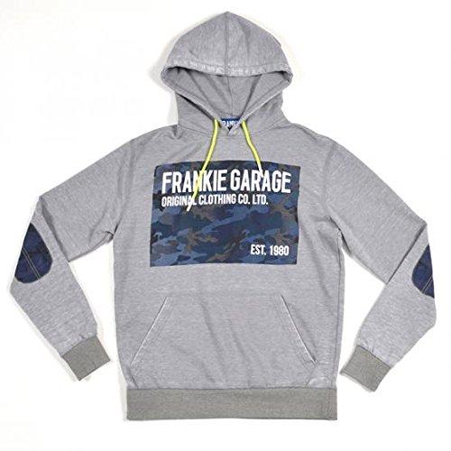 FRANKIE GARAGE FELPA CAPPUCCIO XXL