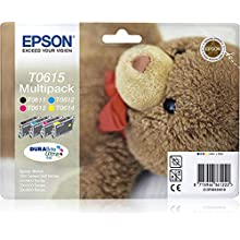 Epson Multipack 4-colours C13T06154010 DURABrite Ultra Ink Ink Cartridge for printers (Black, Cyan, Magenta, Yellow, Inkjet, 385 mm, 202 mm, 151 mm, 164 g)