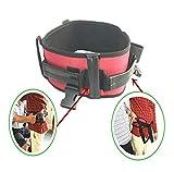 Multi-purpose spostamento della cintura, sedile per sedie a rotelle, apprendimento per adulti a piedi, cadere, ottenere oltre il letto, spostamento della cintura,XL