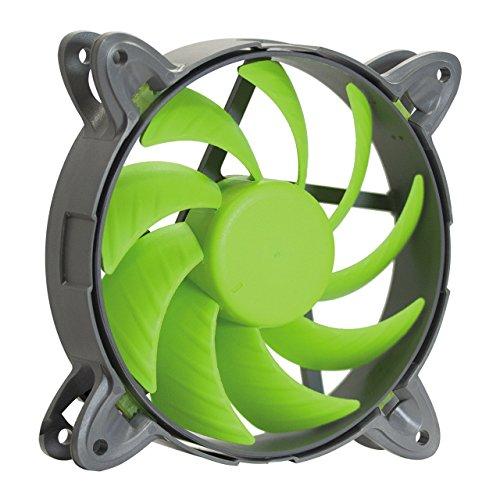 Nanoxia 200300440 Special N.N.V. Fan 120 - 800, 120mm x 120mm x 25 mm, 800 U/Min, 6,1 dBA, 46,2 m³/h, 0,35 mm-H²O, Fluid Dynamic Bearing, Vibrationsfrei, 3-Pin Molex Anschluss