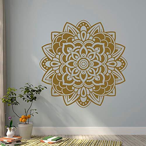 unst Dekor Indien böhmischen marokkanischen Ornament Schlafzimmer Innenarchitektur Yoga Studio Muurstickers 57 * 57cm ()