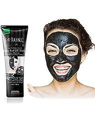 Masque de retrait de tête noire, PYRUS Masque de Démaquillant Masque de Bambou Masque de Démaquillant (B)