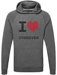 482f6f46aff774 JOllify CUXHAVEN Funktions Pullover Hoodie mit hochwertigem Druck für Sport  und Freizeit ...