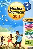 Nathan vacances - tout en un - de la 4e vers la 3e