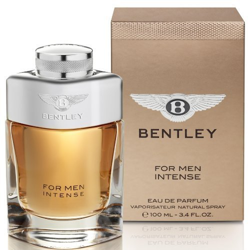 Bentley INTENSE Eau De Parfum Natural Spray 3.4oz / 100ml For Men by Bentley Fragrances [Beauty] (English Manual)