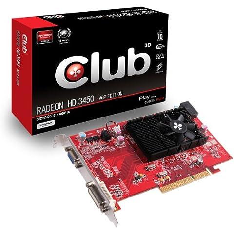 CLUB3D CGA-3452 - Tarjeta de Video, 512 MB RAM