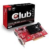 CLUB 3D Radeon HD3450 AGP Edition 512MB 55nm Technologie 64 Bit 600MHz DDR2 800 MHz DVI DirectX 10.1 ATI Avivo