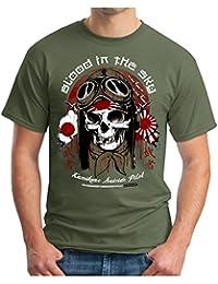 OM3 Kamikaze-Suicide-Pilot - T-Shirt Geek, S - 5XL