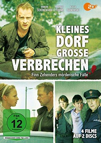 Kleines Dorf - Große Verbrechen: Finn Zehenders mörderische Fälle (2 DVDs)