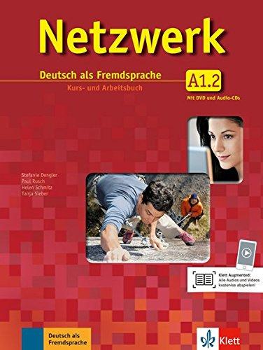 Netzwerk A1 in Teilbänden - Kurs- und Arbeitsbuch, Teil 2 mit 2 Audio-CDs und DVD : Deutsch als Fremdsprache