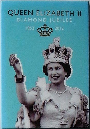 Queen Elizabeth II Diamond Jubilee commemorative -calamita (Ti)