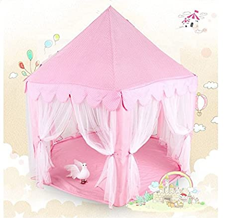 Togather Hexagonal Fairy Princess Castle Tent Children's Playhouse for Outdoor