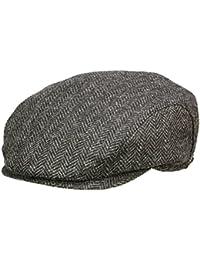 fef8faeee5e Wigens Ivy slim cap 110184 Flatcap Sportmütze Schirmmütze - Dark Grey  Melange