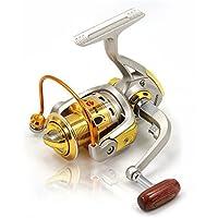 ZQ 200030004000carretes Spinning 5.2: 110Rodamientos de bolas Exchangable mar/hielo/Spinning/agua dulce/Bass pesca Carretes, 4000