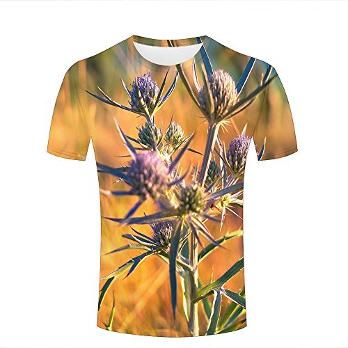 3d Print Short Sleeves T Shirts Beautiful Flower Buds Graphics Men Women Couple Fashion Tees S Lauren-box Flower
