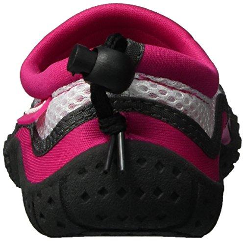 AQUA-SPEED Scarpe Di Acqua Per Spiaggia - Mare - Lago - Pantofole Ideale Come Protezione Per I Piedi - #As17 Rosa/Rosa Chiaro/Bianco