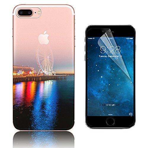 custodia-iphone-7-plus-bonice-cover-iphone-7-plus-silicone-trasparente-tpu-paesaggio-scenario-flessi