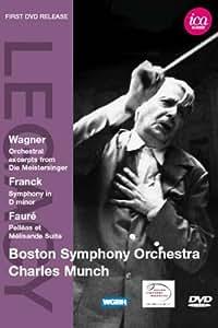 Various: Boston Symphony Orchestra (Die Meistersinger Excerpts/ Symphony/ Pelleas Et Melisande) [DVD] [2011] [NTSC]