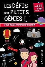 Les Défis des Petits Genies, du CE2 au CM1- Cahier de vacances de Rémy Léglise