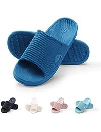 WILLIAM&KATE Zapatillas Ligeras Zapatillas Antideslizantes Para Hombres y Mujeres Zapatillas Portátiles de Viaje Sandalia Cómoda y Suave