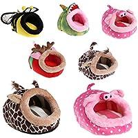 FEIDAjdzf Cama Nido para Mascotas con diseño de Animales de Dibujos Animados, Cama Nido para