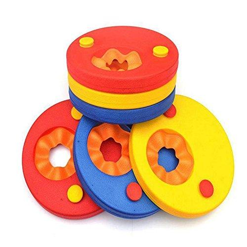 Schwimmscheiben für Kinder, zum Schwimmenlernen, Armreifen (6Stück pro Set), Kinder, Mixed 3 Colors