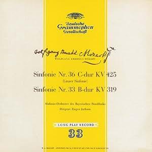 Mozart : Symphonies n° 33 Kv. 319 & n°36 Kv. 425