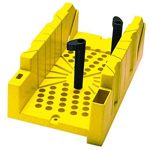 Stanley Gehrungslade aus Kunststoff (Haltenocken-System, integrierter Sägestopp, 90°/45°/22,5° Winkel) 1-20-112