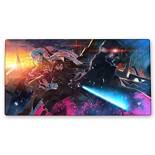 Sword Art Online Glasrahmen mit Ständer (gehärtetes Glas) Anime-Geschenk V3