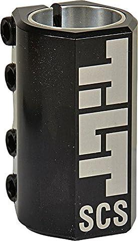 Tilt SCS Compression System Stunt-Scooter Clamp + Fantic26 Sticker (Classic mit Shim 32/35 Schwarz)