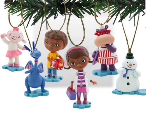 fins Holiday Ornament Set-(6) PVC Figur Ornaments enthalten-Limited Verfügbarkeit ()