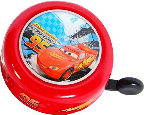 Kubbinga Kinder Fahrradklingel Disney Cars, Mehrfarbig, Einheitsgröße (Vans Disney Kleinkind)