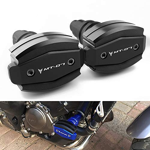 Motocicleta del Marco Deslizadores Protectores Motor Topes Anticaidas Frame Sliders CNC Aluminio...