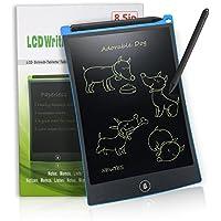 LCD Writing Tablet 8,5-Zoll Digital Schreibtafel Papierlos Grafiktablet von Newyes für Schreiben und Malen (blau)