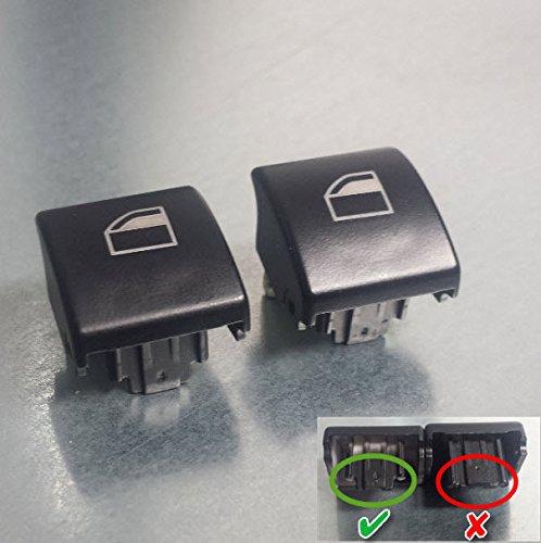 2 x links und rechts Fensterheber Schalter Taster Schalter Knopf für BMW 3er E46