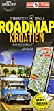Interactive Mobile ROADMAP Kroatien: Strassenkarte Kroatien 1:450 000 (High 5 Edition ROADMAP Collection)