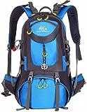 Mochila de senderismo impermeable de 50 l de volumen; mochila de acampadas, para acctividades al aire libre; mochila de viaje; mochila de ciclismo;...