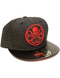 Marvel Comics Hydra Logo Black Snapback cap