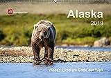 Alaska 2019 Wildes Land am Ende der Welt (Wandkalender 2019 DIN A2 quer): Alaska - Sehnsucht nach Abenteuer, Freiheit und ungezähmter Natur (Monatskalender, 14 Seiten ) (CALVENDO Orte)