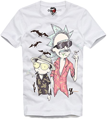 E1Syndicate T-Shirt Fear and Loathing in Las Vegas Rick & Morty