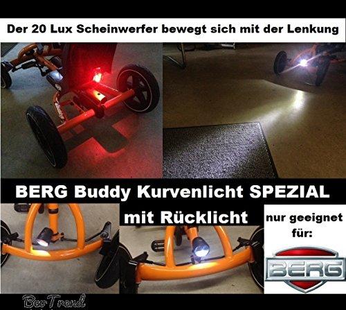 Berg Buddy Gokart Scheinwerfer LED Kurvenlicht mit Rücklicht Buddy