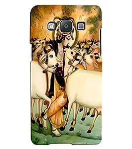 Citydreamz Krishna/Gods/Religious/Spiritual/Flute/Mor Pankh/Janmashtmi Hard Polycarbonate Designer Back Case Cover For Samsung Galaxy A8