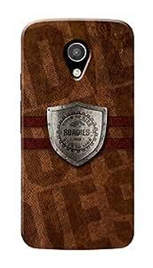 Roadies Hard Case Mobile Cover for Motorola Moto G2